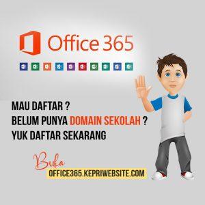 Daftar Office 365 Untuk Pendidikan Gratis Sekolah Batam
