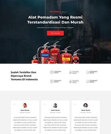 Jual Template Landing Page Murah Siap Pakai, Jual Template Landing Page Murah Siap Pakai, KepriWebsite