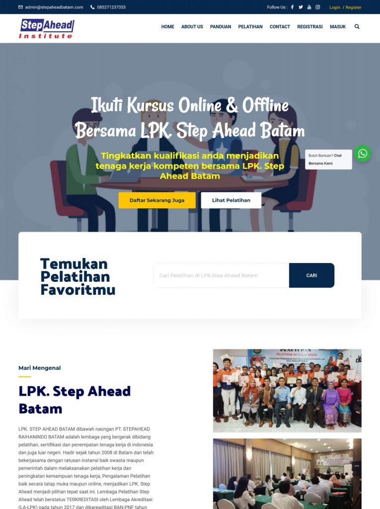 , Portofolio & Client, KepriWebsite